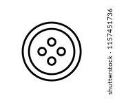 button icon outline vector | Shutterstock .eps vector #1157451736