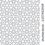 seamless vector pattern in... | Shutterstock .eps vector #1157452939