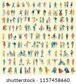 vector illustration in a flat...   Shutterstock .eps vector #1157458660
