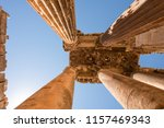 carved decors in ancient roman... | Shutterstock . vector #1157469343