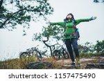 asian woman travel photograph... | Shutterstock . vector #1157475490
