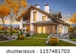 3d rendering of modern cozy... | Shutterstock . vector #1157481703