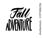 fall adventure. isolated vector ... | Shutterstock .eps vector #1157486236