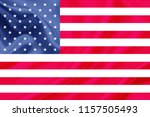 united states of america fabric ... | Shutterstock . vector #1157505493