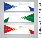 vector abstract design banner... | Shutterstock .eps vector #1157508193