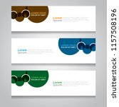 vector abstract design banner... | Shutterstock .eps vector #1157508196