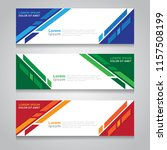 vector abstract design banner... | Shutterstock .eps vector #1157508199