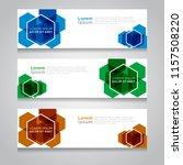 vector abstract design banner... | Shutterstock .eps vector #1157508220