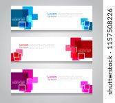 vector abstract design banner... | Shutterstock .eps vector #1157508226