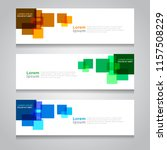 vector abstract design banner... | Shutterstock .eps vector #1157508229