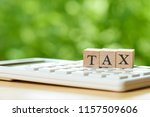 pay annual income  tax  for the ...   Shutterstock . vector #1157509606