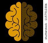 abstract brain with binary...   Shutterstock .eps vector #1157512306