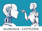 ai. artificial intelligence ... | Shutterstock .eps vector #1157515336