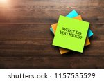 what do you need  the phrase is ... | Shutterstock . vector #1157535529