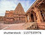 brihadeeswara temple or big...   Shutterstock . vector #1157535976