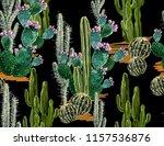 beautiful seamless vector... | Shutterstock .eps vector #1157536876