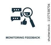 monitoring feedback icon....