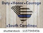 south carolina duty honor and... | Shutterstock . vector #1157545456