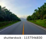 on the road in thailand. | Shutterstock . vector #1157546830