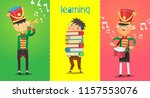 posters with children... | Shutterstock .eps vector #1157553076