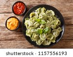italian cuisine authentic... | Shutterstock . vector #1157556193