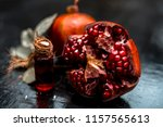 close up of essential essence... | Shutterstock . vector #1157565613