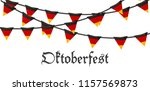 oktoberfest holiday beer... | Shutterstock .eps vector #1157569873