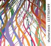 wavy stripes interlocking ... | Shutterstock .eps vector #1157583499