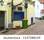 Staithes  North Yorkshire  Uk...