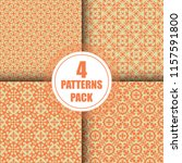 beautiful  vintage pattern... | Shutterstock .eps vector #1157591800