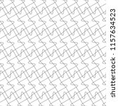 seamless pattern of interlaced... | Shutterstock .eps vector #1157634523