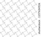 seamless pattern of interlaced... | Shutterstock .eps vector #1157634526
