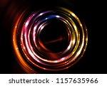abstract fractal brown... | Shutterstock . vector #1157635966