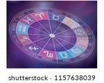 zodiac signs background....   Shutterstock .eps vector #1157638039