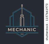 auto mechanic service. mechanic ... | Shutterstock .eps vector #1157661973