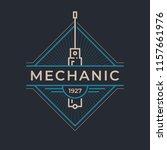 auto mechanic service. mechanic ... | Shutterstock .eps vector #1157661976