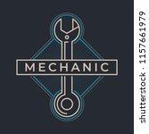auto mechanic service. mechanic ... | Shutterstock .eps vector #1157661979