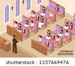 catholic religious education... | Shutterstock .eps vector #1157669476