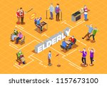 activities and communion hobby... | Shutterstock .eps vector #1157673100