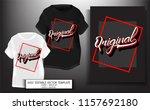 typography slogan with original.... | Shutterstock .eps vector #1157692180