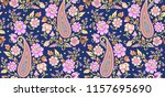 Traditional Paisley Floral...