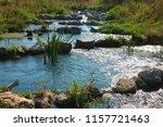 running water power plant | Shutterstock . vector #1157721463