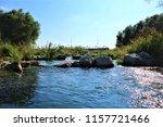 running water power plant | Shutterstock . vector #1157721466