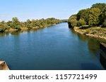running water power plant | Shutterstock . vector #1157721499