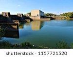 running water power plant | Shutterstock . vector #1157721520