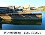 running water power plant | Shutterstock . vector #1157721529