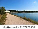 running water power plant | Shutterstock . vector #1157721550