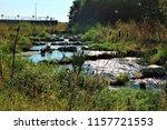 running water power plant | Shutterstock . vector #1157721553