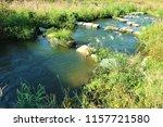running water power plant | Shutterstock . vector #1157721580