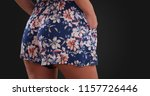 tight rear view of woman in... | Shutterstock . vector #1157726446